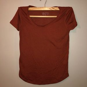 Burnt Orange Short Sleeve Tee